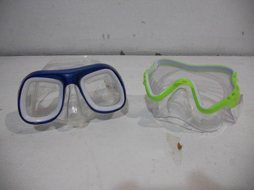 2 Visores Snorkel Para Buceo Nadar Playa Niños #a499