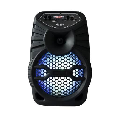 Bafles Bocina Amplificados 8 Pulgadas Bluetooth Velikka
