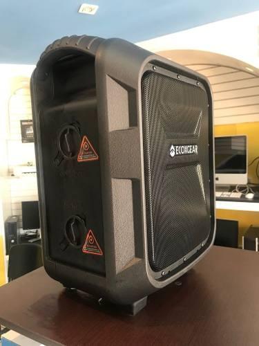 Bocina Bluetooth Ecoxgear Ecoboulder Pila Recargable