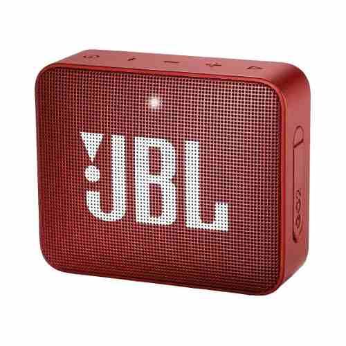Bocina Jbl Go 2 Bluetooth Rojo Metalica A Prueba De Agua