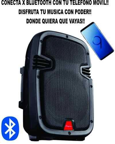 Bocina Portatil De 8 Pulgadas Bluetooth Ridgeway