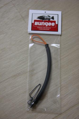 Bungee Para Arpon Con Clip Y Destorcedor Spearfishing Buceo