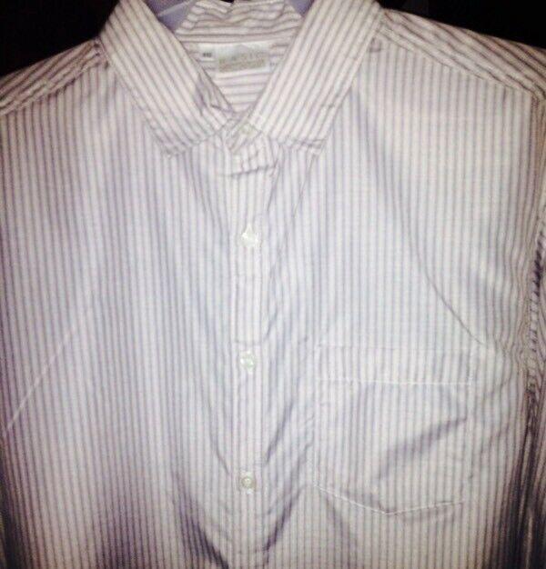 Camisa Nueva de Vestir Marca Basic Concepts, Talla EG