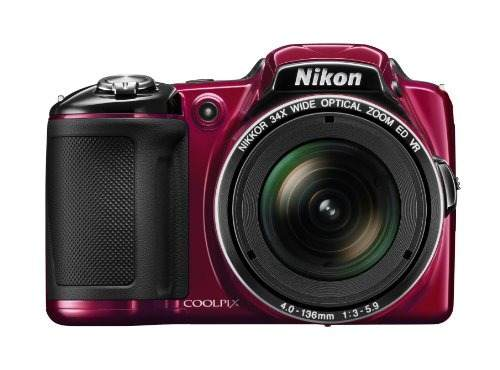 Cámara Digital Nikon Coolpix L Mp Cmos Con Lente Nikk