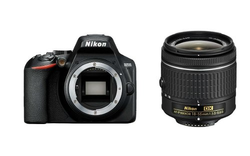 Cámara Nikon D Dslr Con Lente Af-p Dx Nikkor