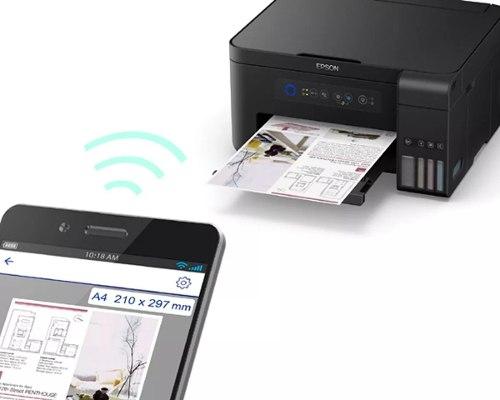 Impresora Multifuncional Epson L Tinta Continua Wifi