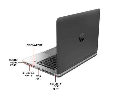 Laptop Hp Probook Hdmi Cargador Core I5 4ta Gen 8gb 320gb