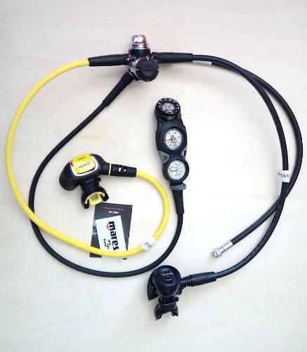 Mares Ice Xtreme Regulador Profesional Completo Para Buceo 1