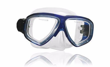 Mascara Escualo Modelo M10 Azul Ideal Para Niño