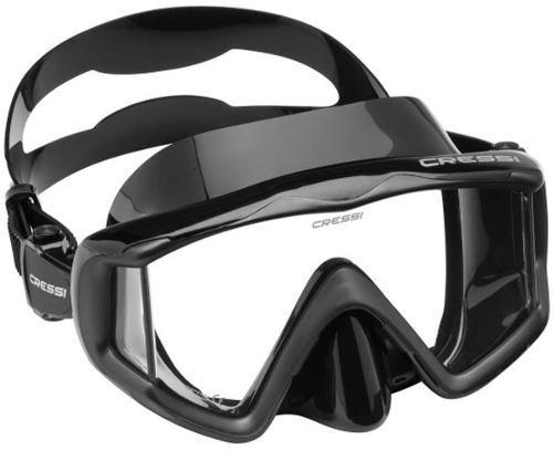 Máscara Negro De Buceo Y Snorkeling Cressi