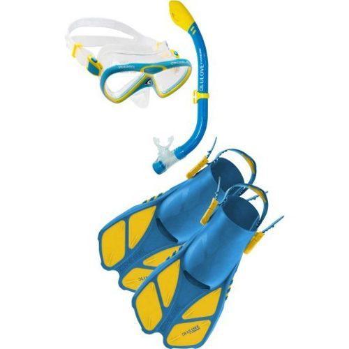 Set Mini Bonete Cressi Infantil Snorkeling Envío Gratis!!