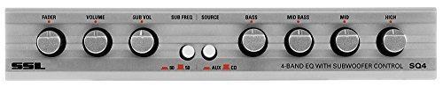 Sound Storm Sq4 Ecualizador De Audio Para Automóvil Con