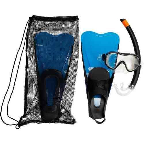Visor Aletas Y Set De Snorkel Kit Caraibes 100 Ad 8334363 2