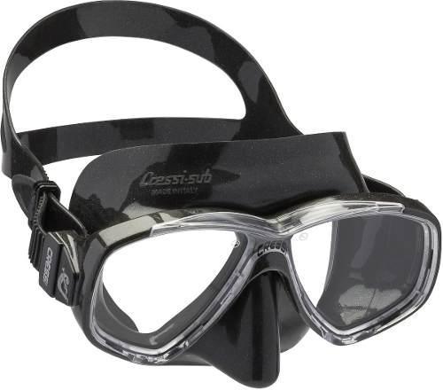 Visor Mascara Buceo Snorkel Cressi Perla - Black/black