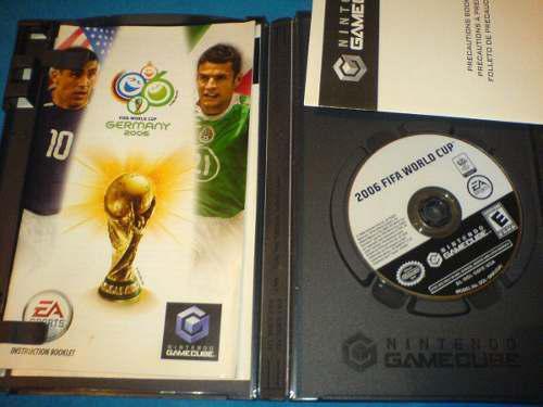 Alemania 2006 De Game Cube Compátible Con Wii Fdp