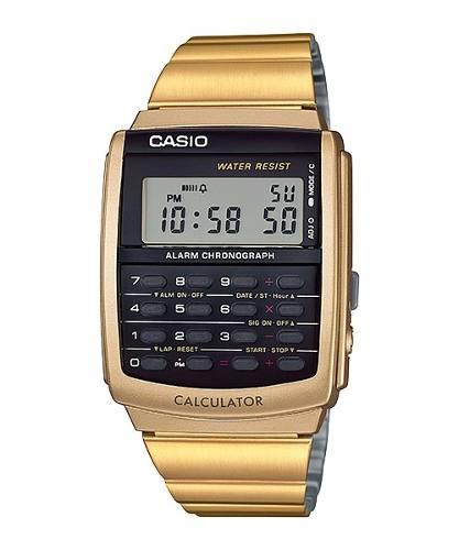 Casio Vintage Calculadora Ca-506g-9a Dorado Sj
