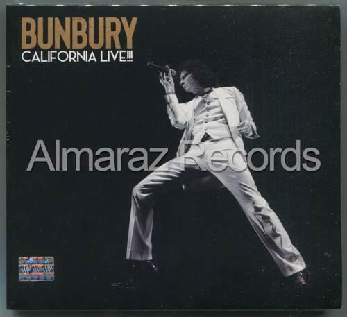 Enrique Bunbury California Live!!! Cd