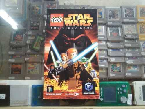Lego Star Wars Game Cube Solo Manual O Instructivo