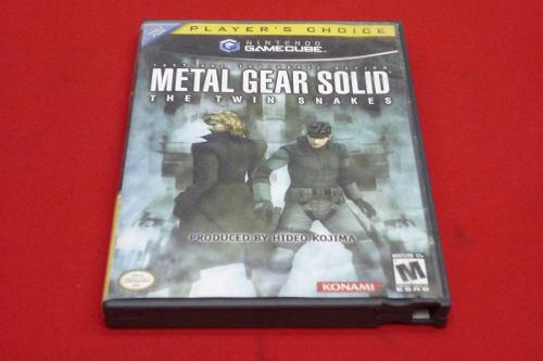 Longaniza Games * Game Cube Metal Gear Twin Snakes