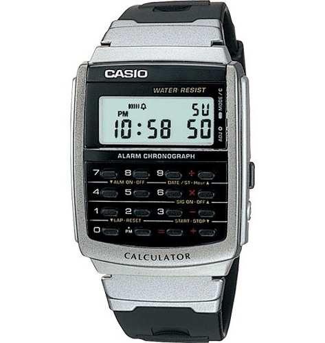 Reloj Casio Ca56 Vintage Calculadora 8 Digitos Alarma Crono