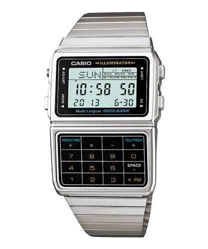 Reloj Casio Para Hombre, Con Calculadora, Banco De Datos