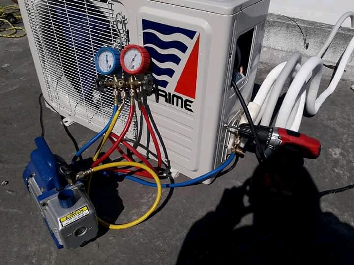 Reparación, instalación y mantenimiento de minisplit y