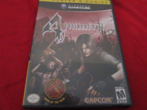 Resident Evil 4 Gamecube Seminuevo