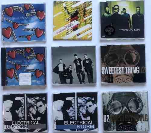 U2 - Singles (cd's Varios)