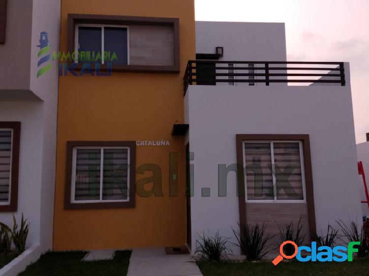 Venta Casa nueva 3 hab. Col. Valle Alto Tuxpan Veracruz,