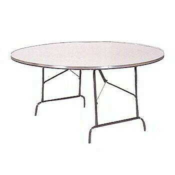 mesa redonda fibra de vidrio 1.50