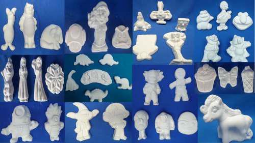 120 Figuras Infantiles De Yeso Por $550 Con Envio Gratis