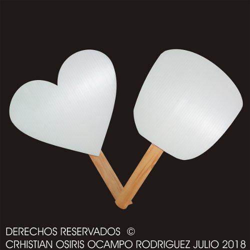 Abanico Fiesta Boda Xv Playa Para Imprimir Recuerdo Bautizo