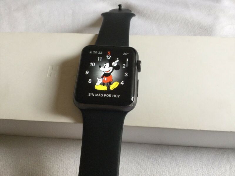 Apple Watch series 1 42mm usado funcionando totalmente