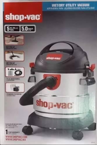 Aspiradora Shop Vac 5 Hp 5 Galones Envió Gratis!!