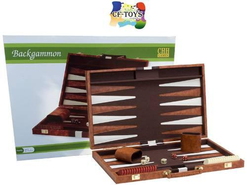 Backgammon Portafolio Grande Chh Juego De Mesa Portatil Cf