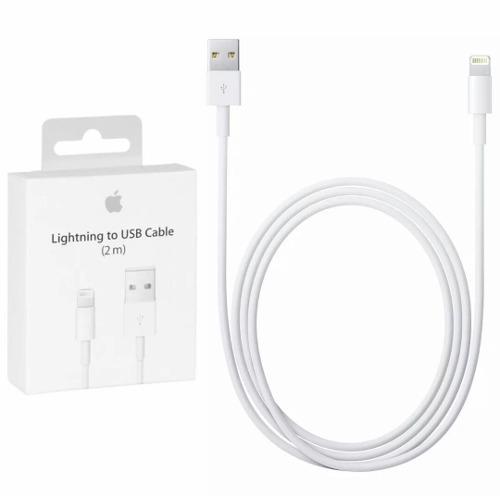 Cable Cargador iPhone  Plus X iPad Lightning 2 Metros