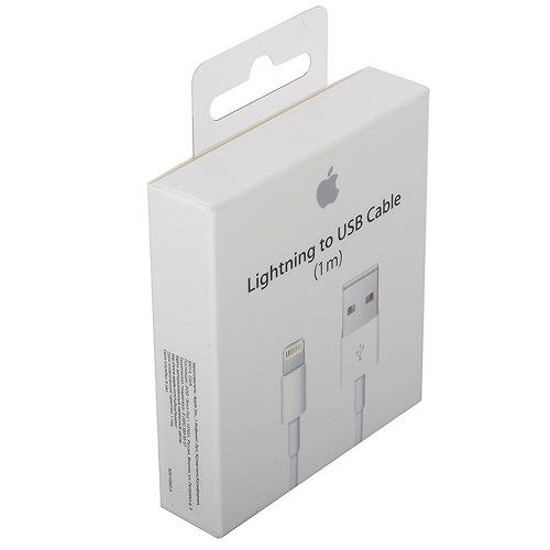Cable Lightning Apple Original 1m iPhone iPad iPod