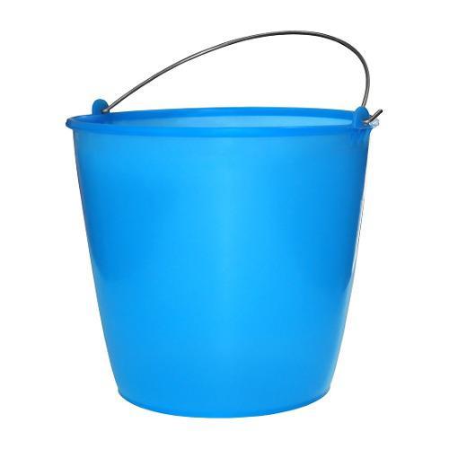 Cubeta De Plástico Flexible No. 18 Azul De 15 Lt