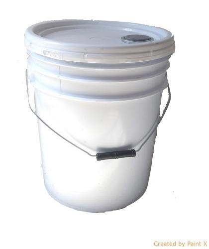 Cubetas De Plastico 19 Lts 100% Virgen Grado Alimenticio