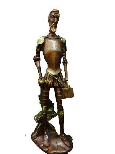 Escultura Don Quijote Figura Apariencia Bronce 980