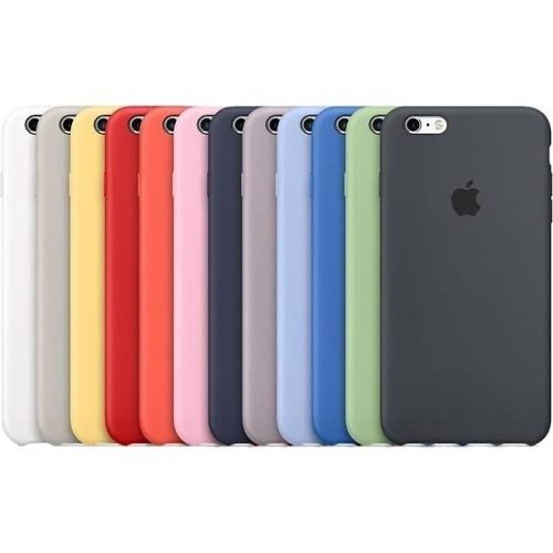 Funda Silicone Case Original Para iPhone Del 5 Al Xs Max