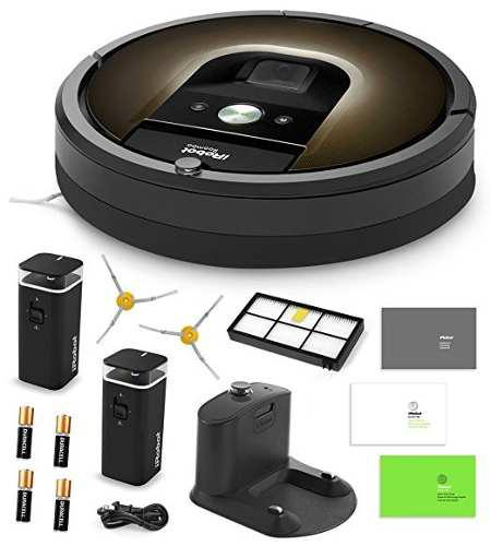 Irobot Roomba 980 Robot De Limpieza De Vacío + 2 Dual Mode