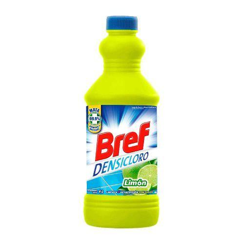 Limpiador Líquido Bref Densicloro Aroma Limón 1 Lt