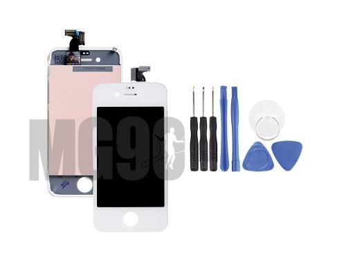 Pantalla Display iPhone 4 Original Negro Y Blanco + Kit