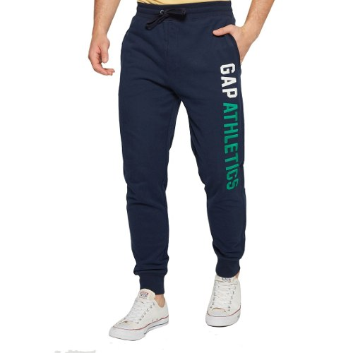 Pants Hombre Deportivo Logo Lateral Sport  Gap