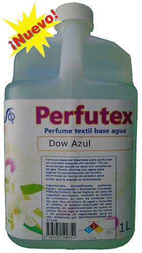 Perfume Para Lavandería Ropa Reforzador Aroma Dow Azul 1 L