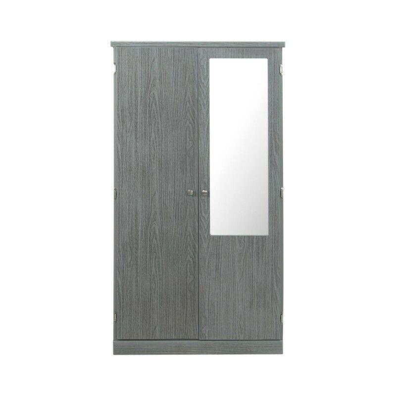 ROPERO CLOSET Juvenil modelo PEKE GRIS puertas ABATIBLES