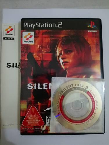 Silent Hill 3 [Ntsc-j] Completo Original Japones