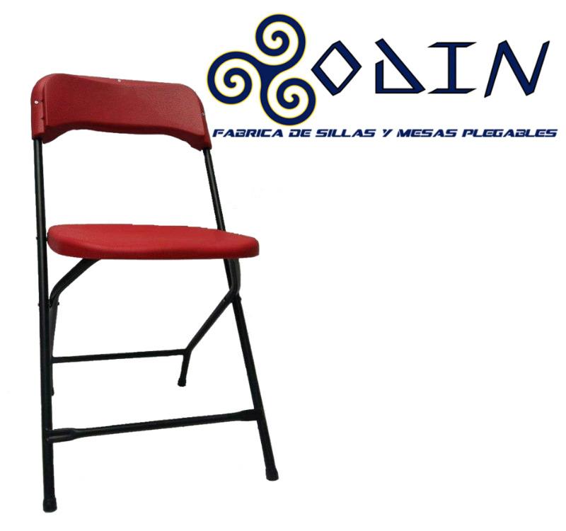 Sillas y mesas plegables para alquiladoras de alto