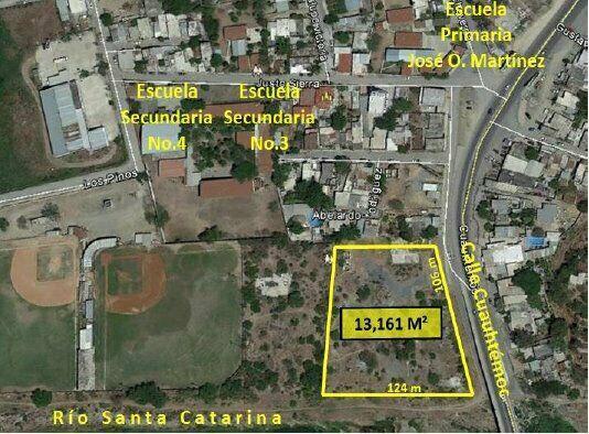 Terreno Comercial en Renta en Cadereyta NL sobre Cuauhtémoc